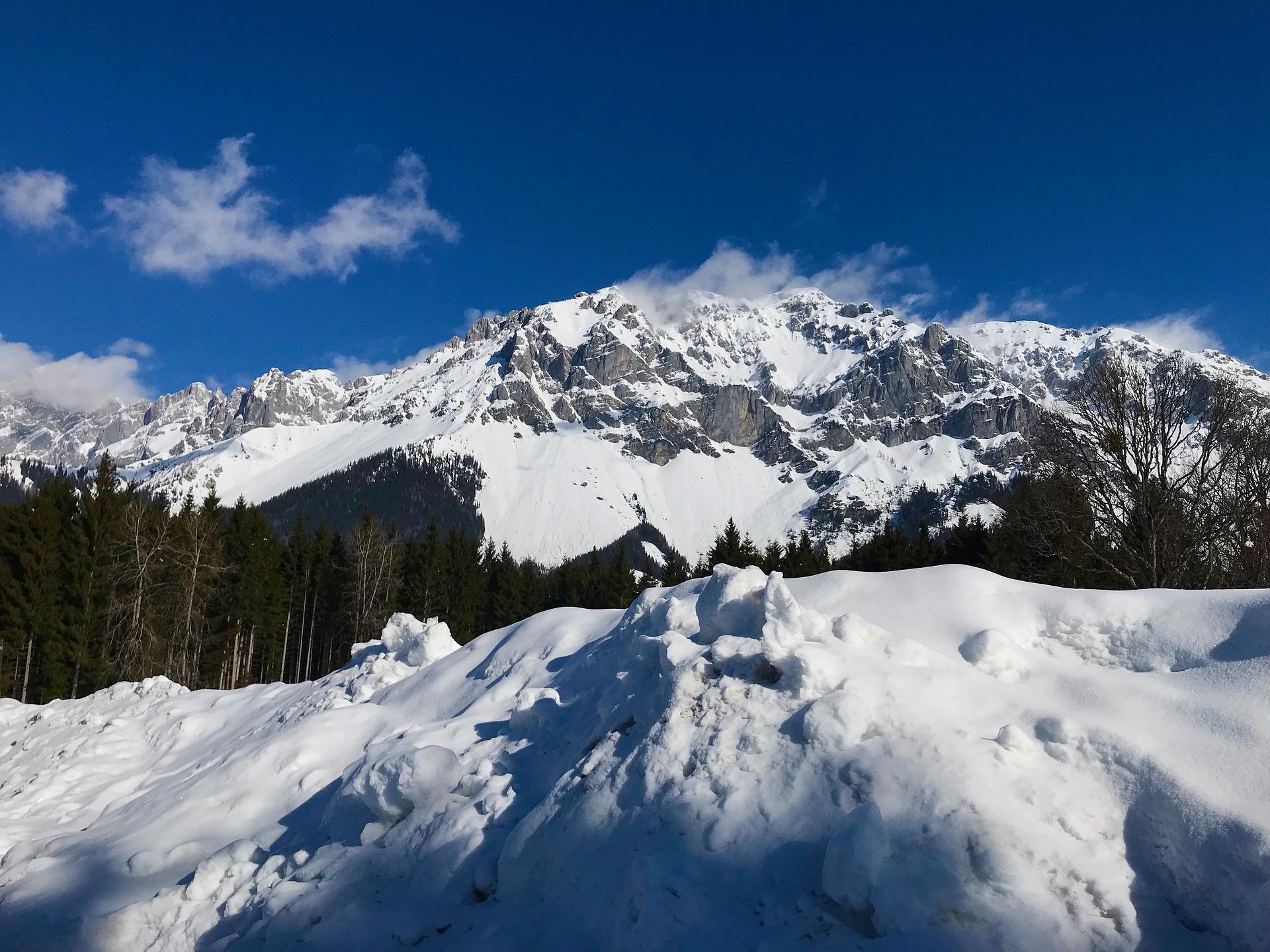 Die in Oberbayern gelegene Hirscheckblitz Ramsau Piste